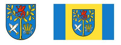 herb i flaga Gminy Białogard